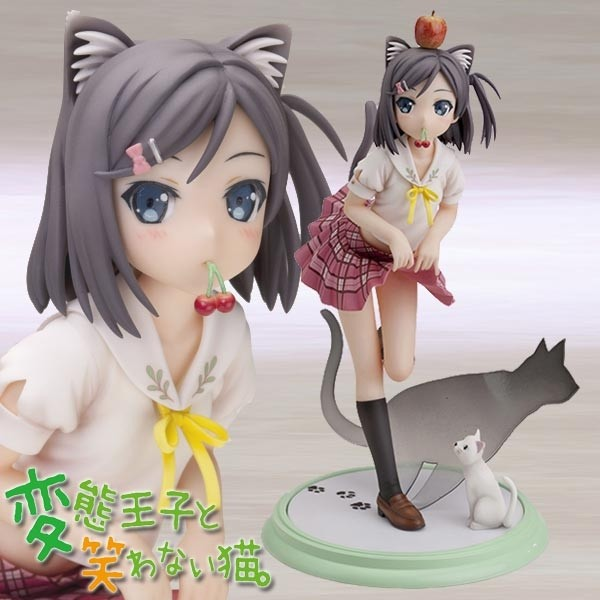 The Hentai Prince and The Stony Cat: Tsutsukakushi Tsukiko 1/8 Scale PVC Statue