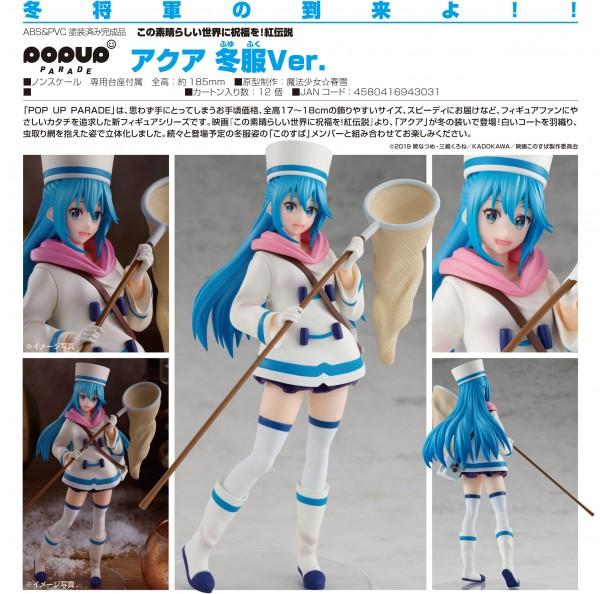 KonoSuba: Legend of Crimson: Pop up Parade Aqua Winter Ver. non Scale PVC Statue