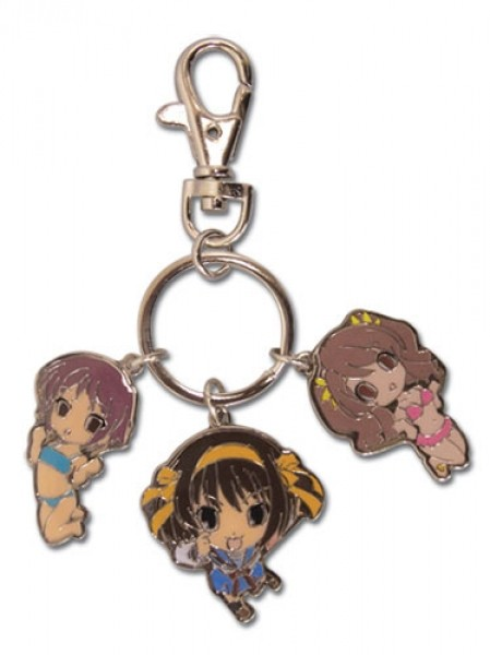 Metall Schlüsselanhänger Girls