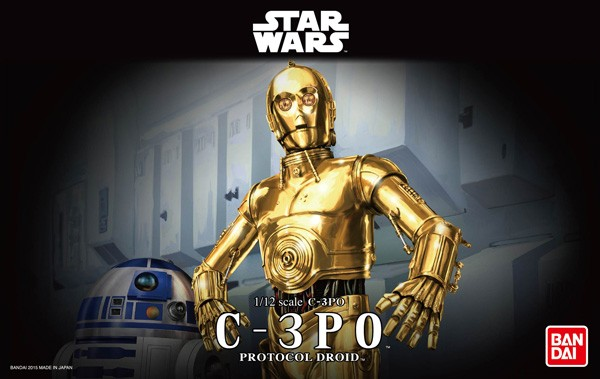 Star Wars: C-3PO 1/12 Model Kit