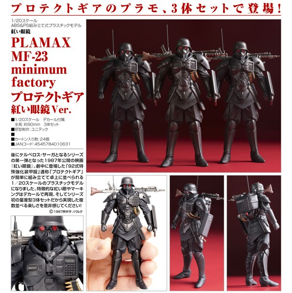 The Red Spectacles 1/20 Protect Gear PLAMAX MF-23 Model Kit