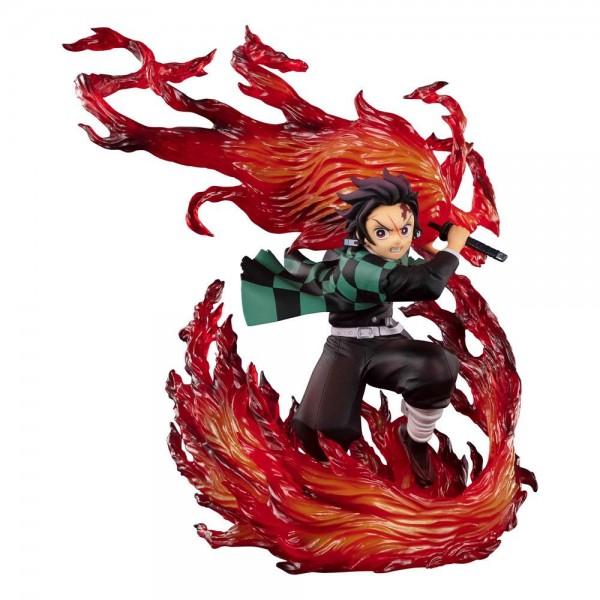 Demon Slayer: Kimetsu no Yaiba: Figuarts Zero Tanjiro Kamado (Hinokami Kagura) non Scale PVC Statu