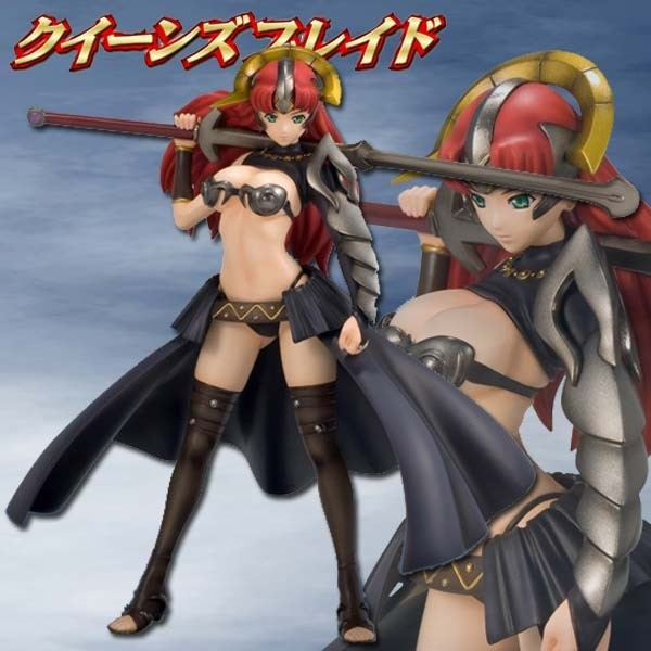 Queen's Blade: Claudette Completed 1/7 Scale PVC Statue