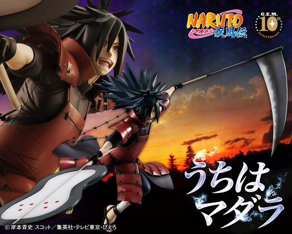 Naruto Shippuden: G.E.M. Serie Uchiha Madara non Scale PVC Statue