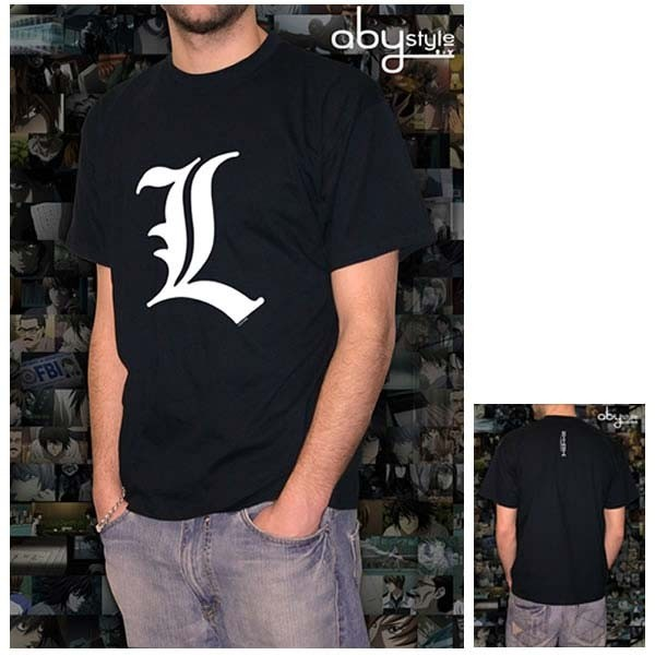 Death Note: T-Shirt L Logo Herren