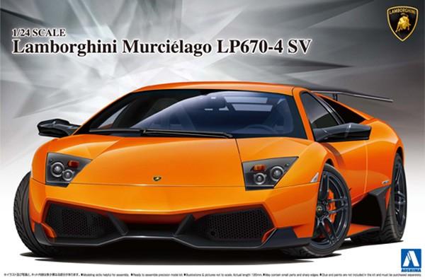 Lamborghini Murcielago LP670-4 1/24 Model Kit