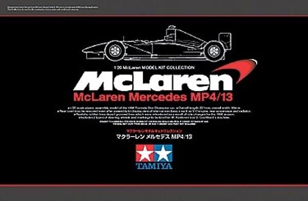 McLaren Mercedes MP4/13 1/20 Model Kit
