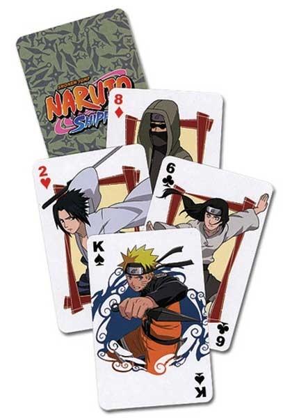 Naruto Shippuden: Playing Cards