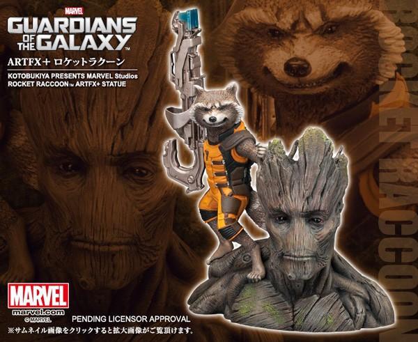 Guardians of the Galaxy: Rocket Raccoon 1/10 ARTFX Statue