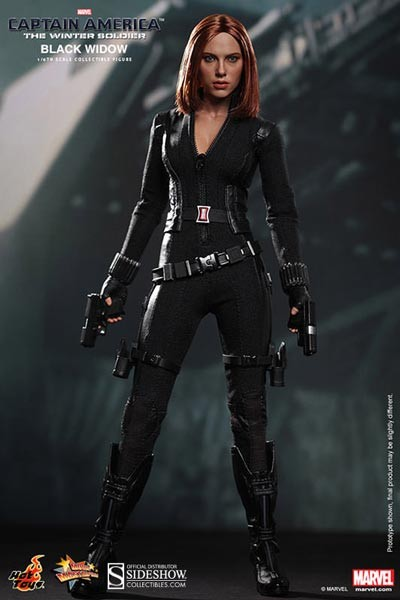 Captain America 2: Black Widow 1/6 Masterpiece Actionfigure
