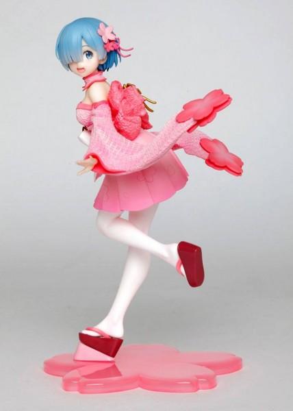 Re:ZERO -Starting Life in Another World: Rem Sakura Ver. non Scale PVC Statue