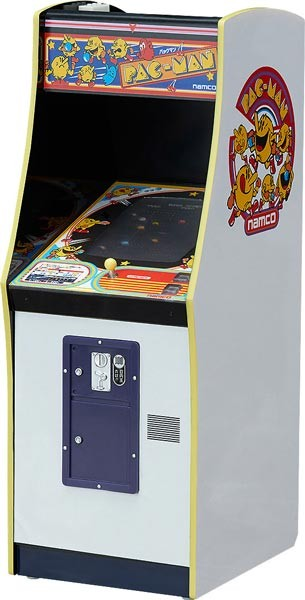 1/12 NAMCO Pac-Man Arcade Machine Collection Mini Replik