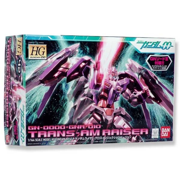 Gundam 00 - HG Trans-Am Raiser Gloss Injection Ver. 1/144