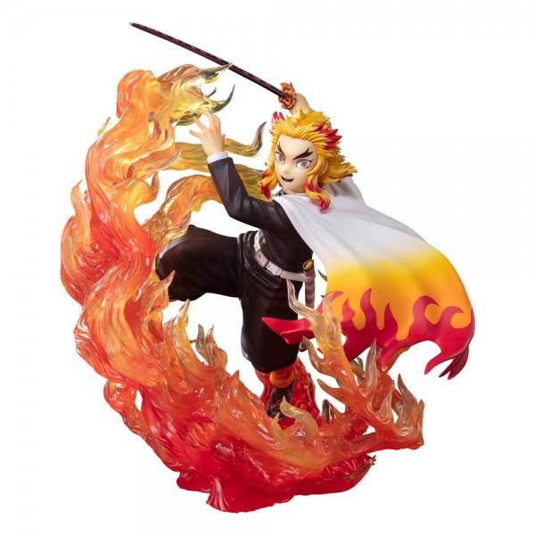 Demon Slayer: Kimetsu no Yaiba: Figuarts Zero Kyojuro Rengoku (Flame Breathing) non Scale PVC Statue