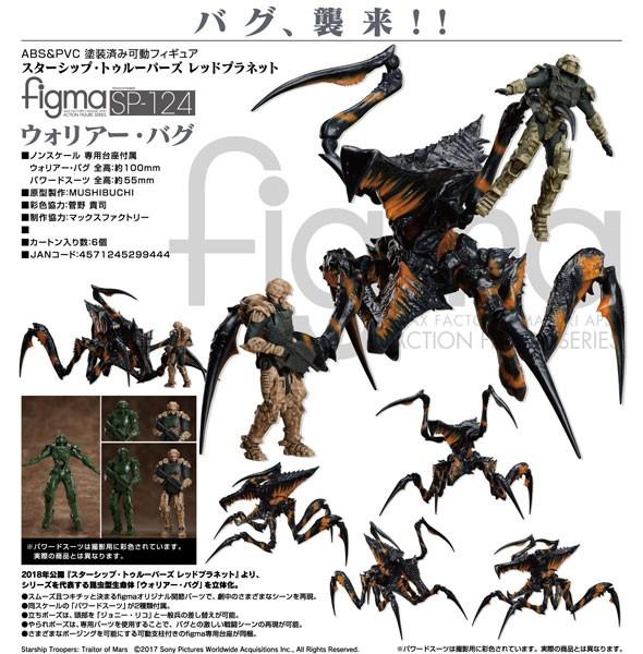 Starship Troopers - Traitor of Mars: Warrior Bug - Figma