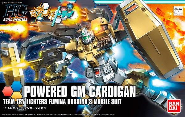 Gundam HGBF Powered GM Cardigan 1/144