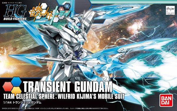 Gundam Build Fighters - HGBF Transient Gundam 1/144