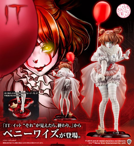 Stephen King's Es: Pennywise Bishoujo 1/7 Scale PVC Statue