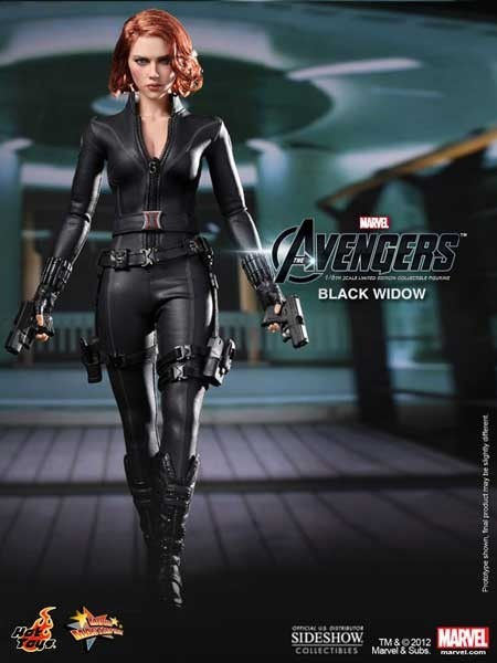 The Avengers: Black Widow 1/6 Masterpiece Actionfigure