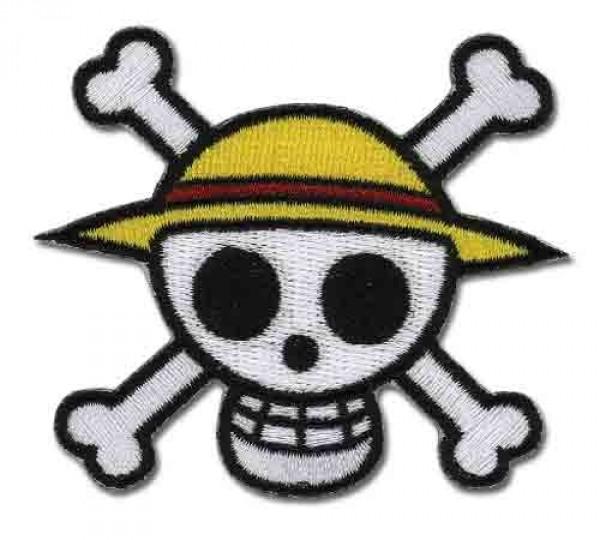 Patch/Aufnäher - Strohhut Piraten Logo