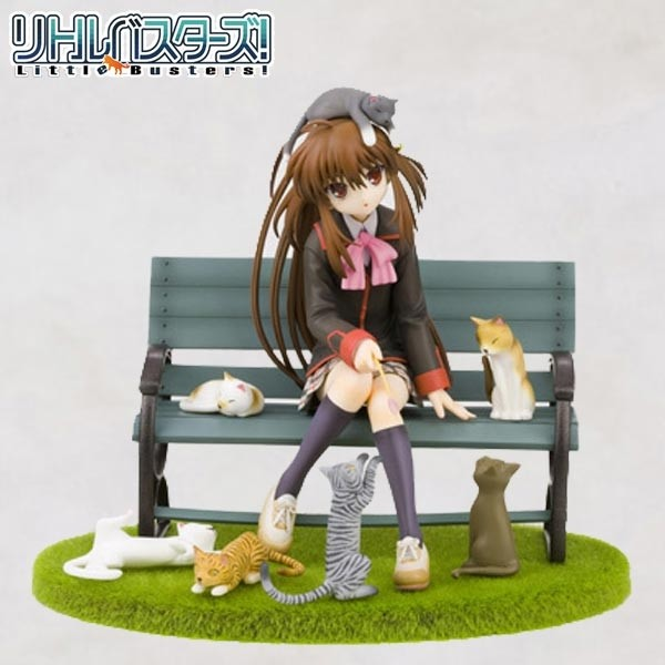 Little Busters: Rin Natsume Cats in the Warm Sunshine 1/8 Scale PVC Statue