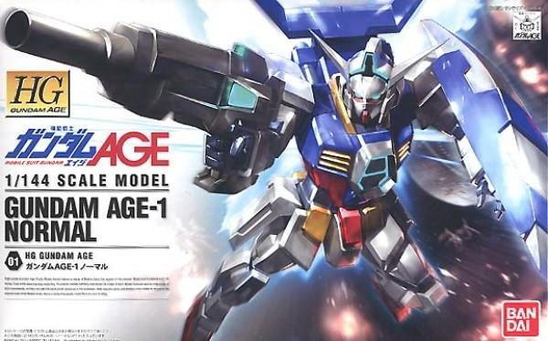 Gundam 00 - HG Gundam AGE-1 Normal 1/144