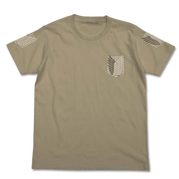 Shingeki no Kyojin: T-Shirt Chousa Heidan Kaki Sand