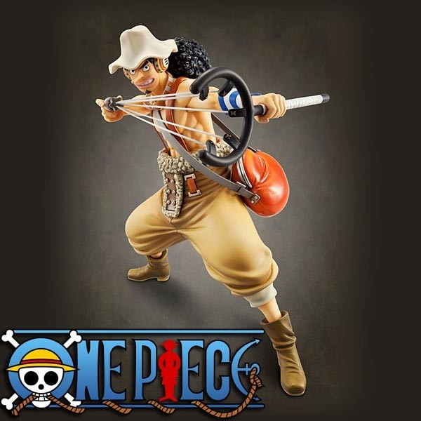 One Piece: P.O.P. Usop Sailing Again 1/8 Scale PVC Statue