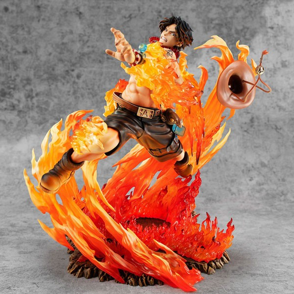 One Piece: P.O.P. Neo Maximum Portgas D. Ace 15th Anniversary Limited non Scale PVC Statue