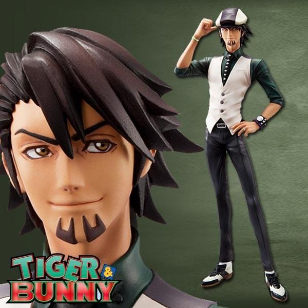 Tiger & Bunny: Kotetsu T. Kaburagi 1/8 Scale PVC Statue