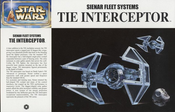 Star Wars: Tie Interceptor 1/72 Model Kit