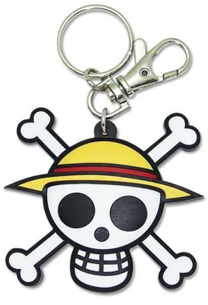Schlüsselanhänger Strohhutpiraten Logo
