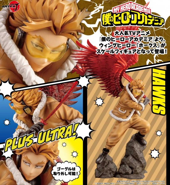 My Hero Academia: ARTFX-J Hawks Bonus Edition 1/8 Scale PVC Statue