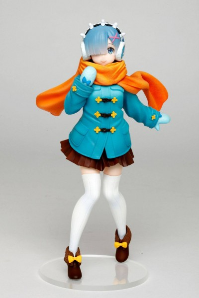 Re:ZERO -Starting Life in Another World: Rem Winter Clothes Ver. non Scale PVC Statue