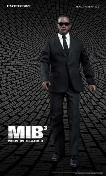 Men in Black III: Agent J Real Masterpiece Actionfigure