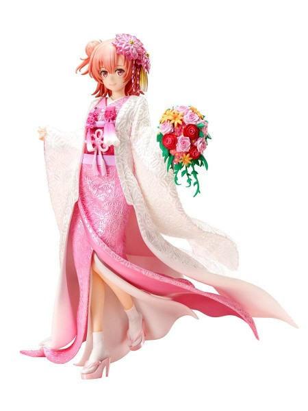 My Teen Romantic Comedy SNAFU Climax: Yui Yuigahama - Shiromuku - 1/7 Scale PVC Statue