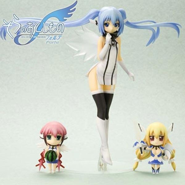 Sora no Otoshimono: Nymph with Ikaros & Astraea 1/8 PVC Statue