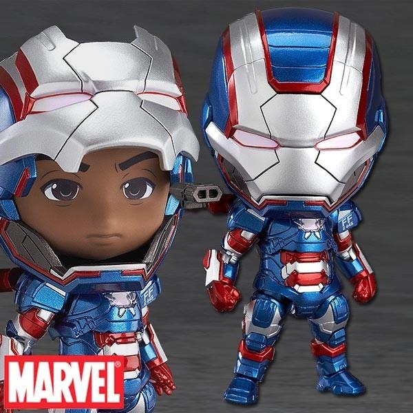 Marvel - Nendoroid Iron Patriot: Hero's Edition