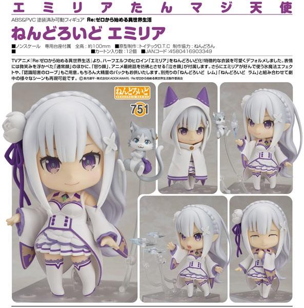 Re:ZERO -Starting Life in Another World: Emilia Nendoroid
