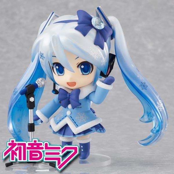 Vocaloid 2: Snow Miku Fluffy Coat Ver. - Nendoroid