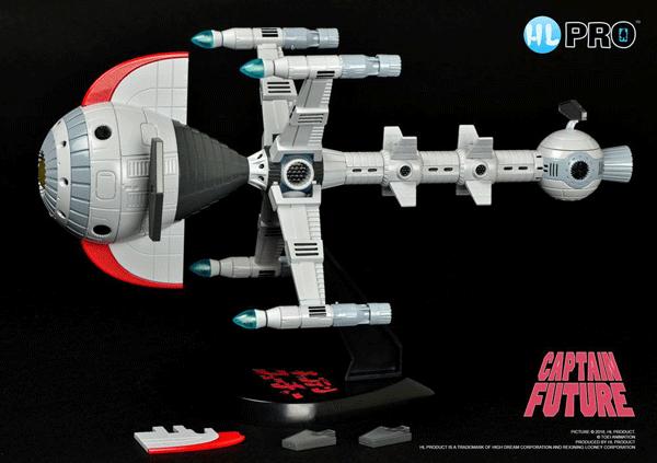Captain Future:Comet Diecast Modell Metaltech 11