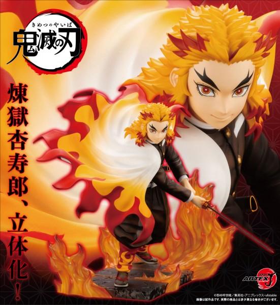 Demon Slayer Kimetsu no Yaiba: Kyojuro Rengoku Bonus Edition 1/8 Scale PVC