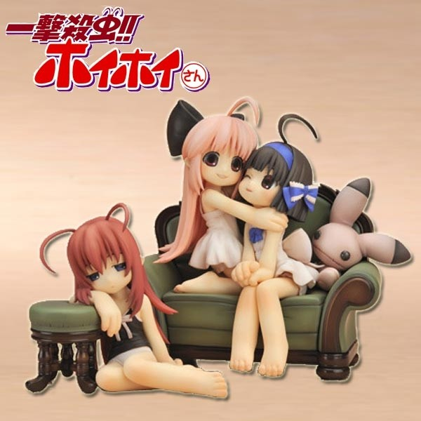 One-Shot Bug Killer: HoiHoi-San Ani Statuen 3er-Pack 1/1 Scale PVC Statue