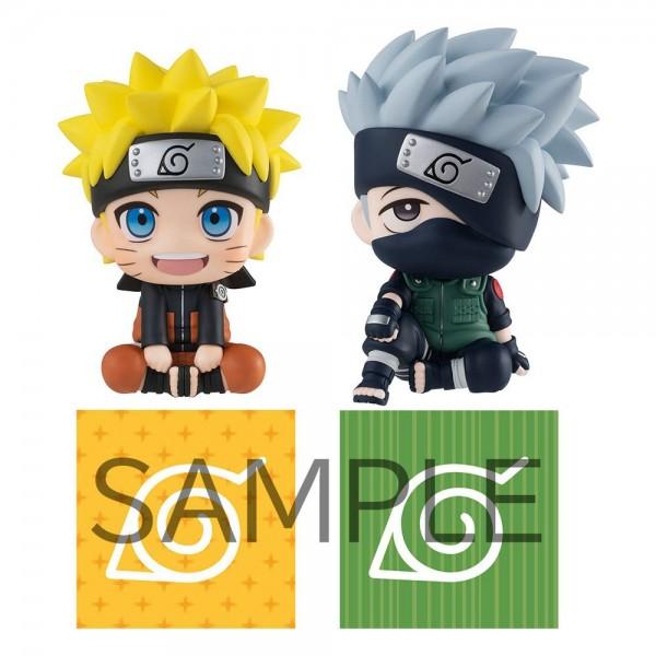 Naruto Shippuden: Naruto Uzumaki & Hatake Kakashi Look Up Limited Ver. non Scale PVC Statue