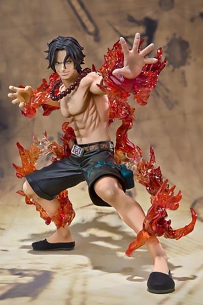 One Piece: Figuarts Zero Portgas D Ace Battle Ver. non Scale PVC Statue