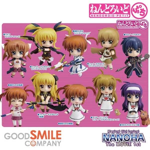 Magical Girl Lyrical Nanoha Strikers The Movie 1st: Petit Nendoroid 1 Box (12pcs)