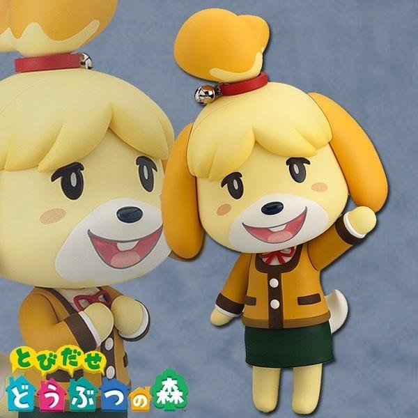 Animal Crossing: Nendoroid Shizue (Isabelle) Winter Ver.