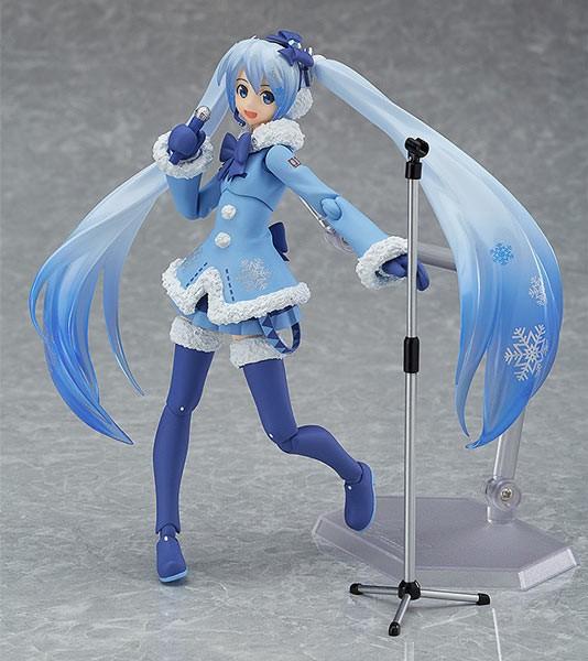 Vocaloid 2: Snow Miku Fluffy Coat Ver. Figma