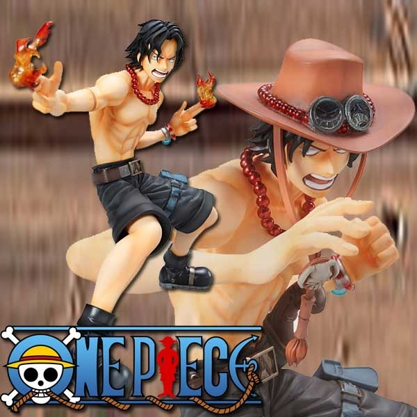 One Piece: P.O.P. Portgas D. Ace Marine Ford Ver. non-scale Scale PVC Statue