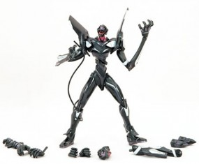 EVA Unit 03 Black Action Figur Lunch Tube